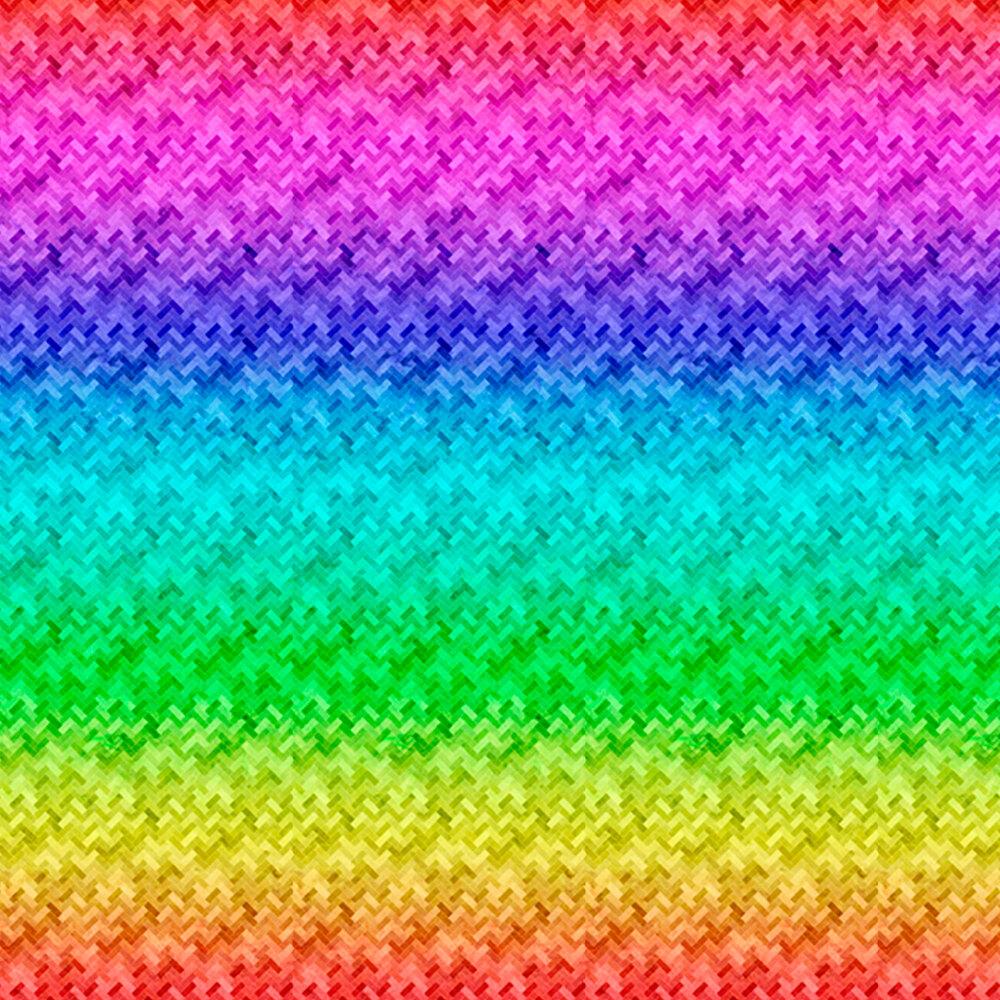 Rainbow ombre design | Shabby Fabrics