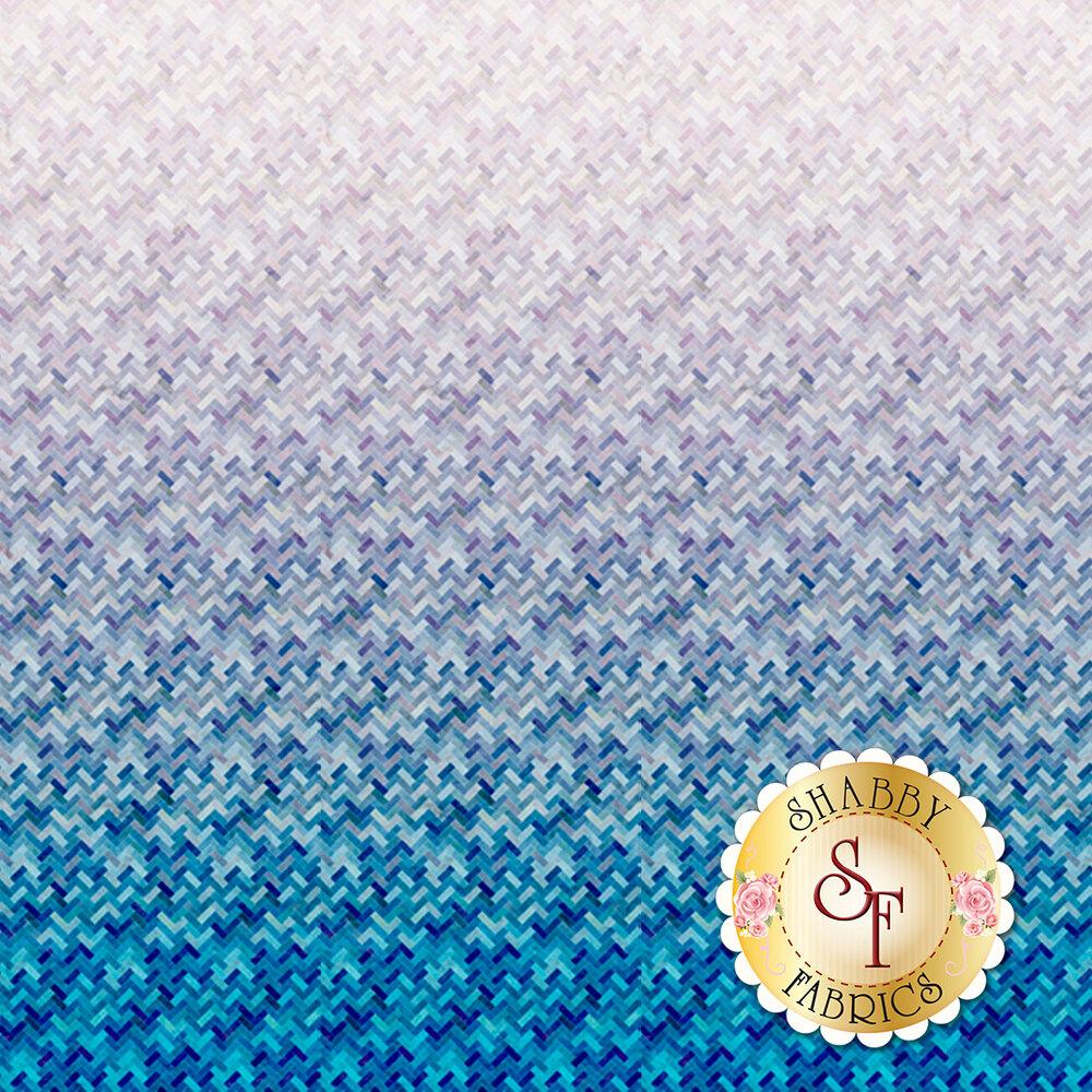 Blue/light purple ombre design | Shabby Fabrics