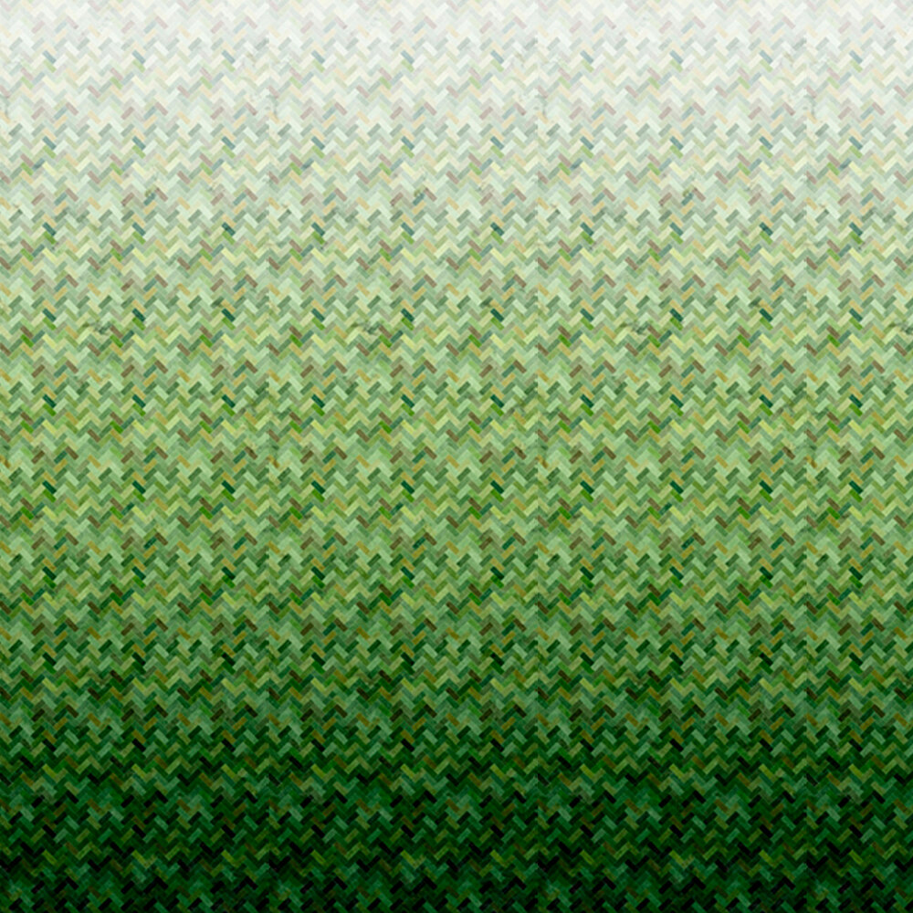 Green ombre design | Shabby Fabrics