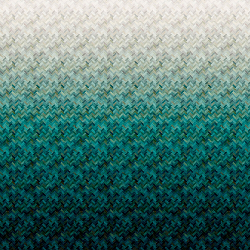 Blue/gray ombre design | Shabby Fabrics