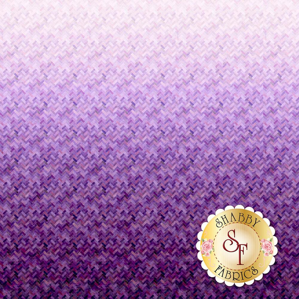 Purple ombre design | Shabby Fabrics