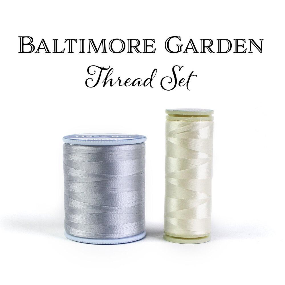 Baltimore Garden Table Runner Thread Set - 2pc