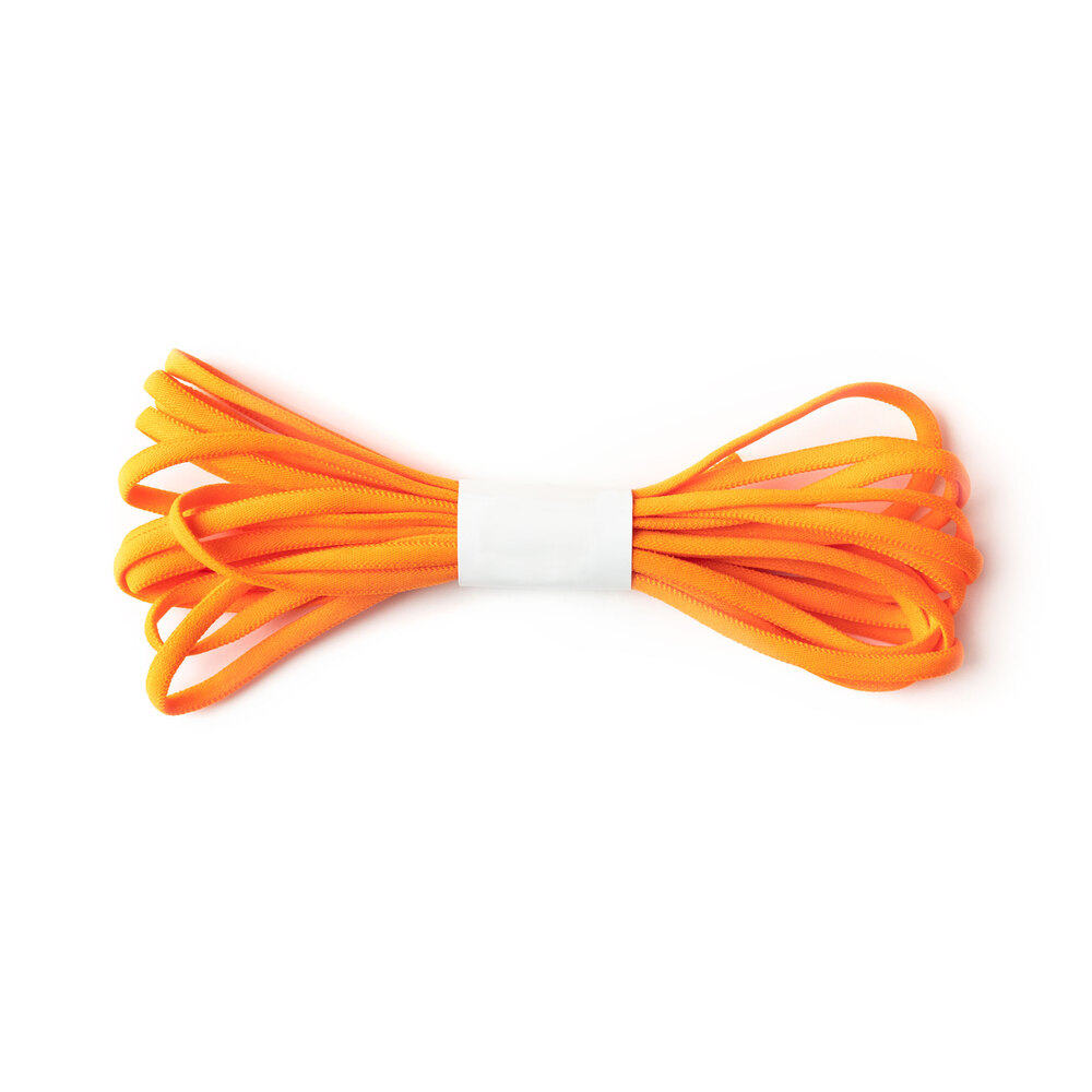 A 4 yard roll of the Orange Banded Stretch Elastic