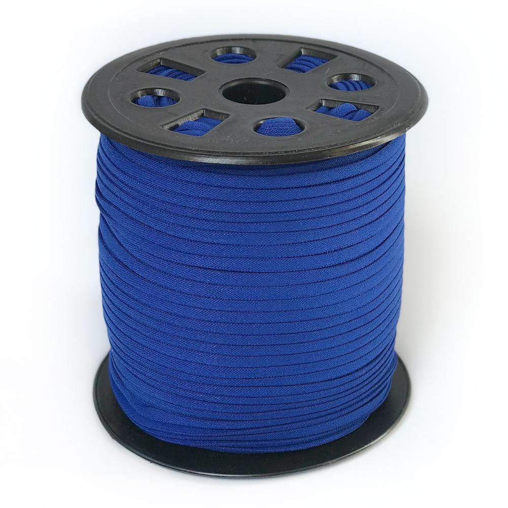 """Banded Stretch Elastic - Royal Blue - 1/6"""" x 4 yards"""