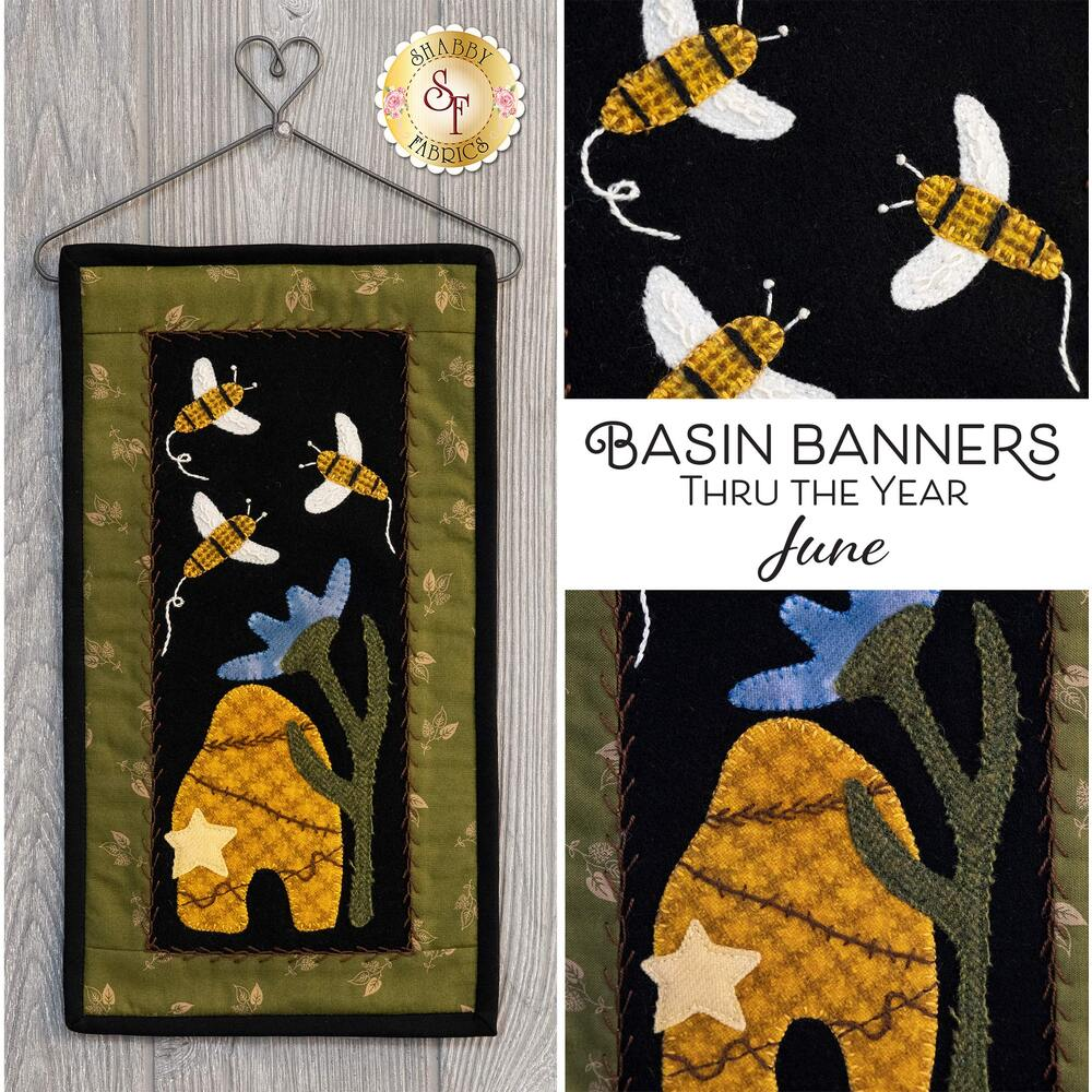 Basin Banners Thru The Year - June - Wool Kit