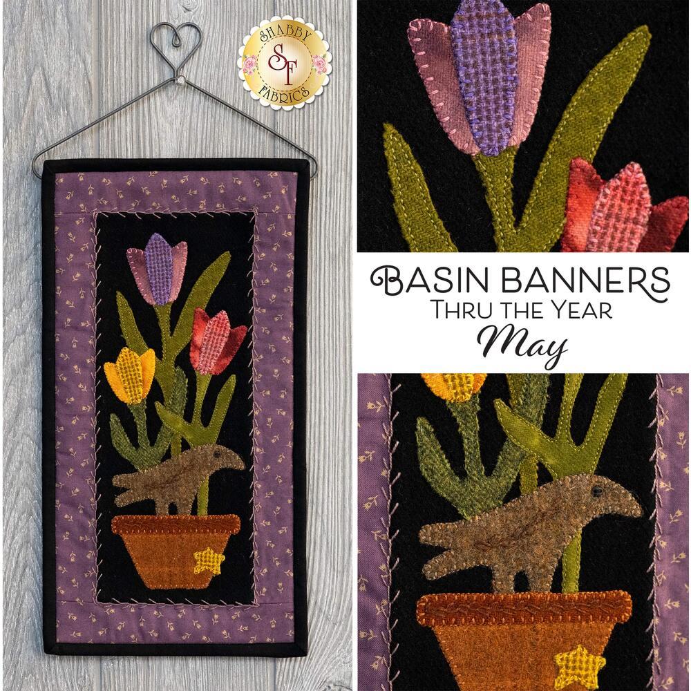 Basin Banners Thru The Year - May - Wool Kit
