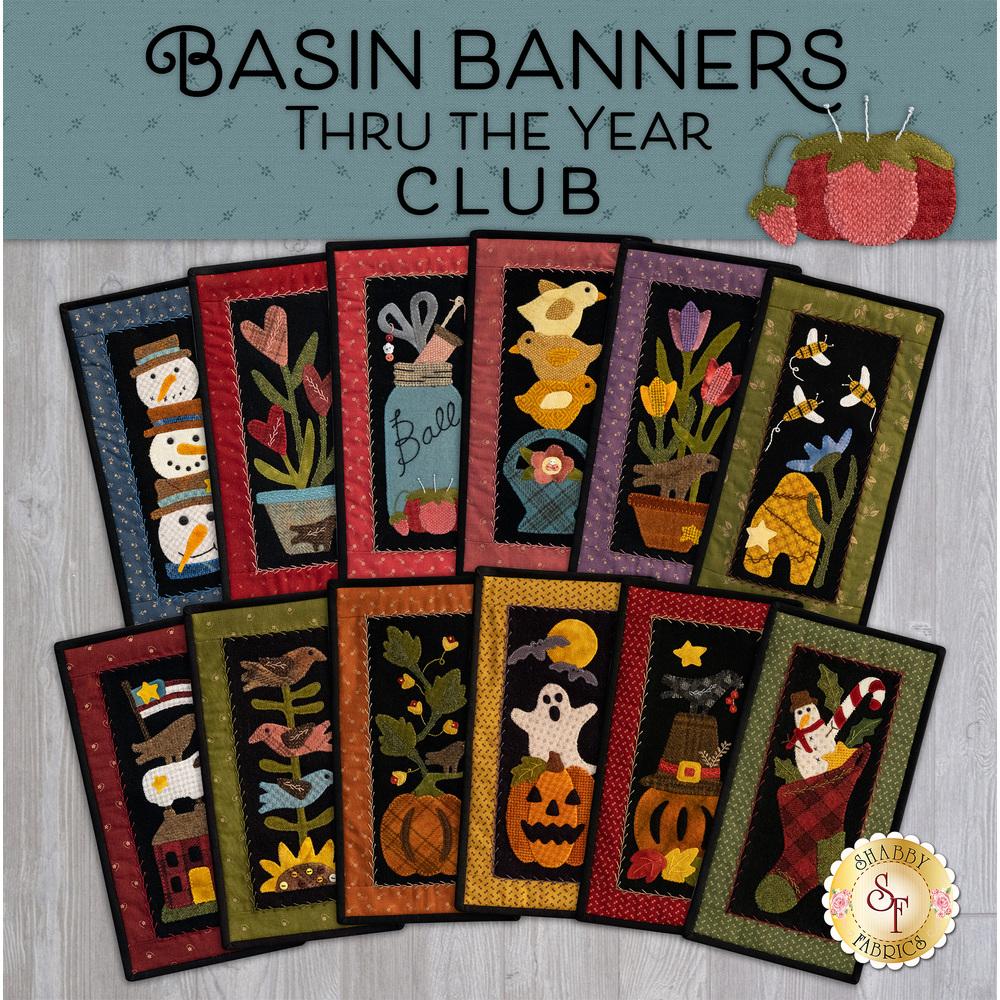 Basin Banners Thru the Year - Wool Club
