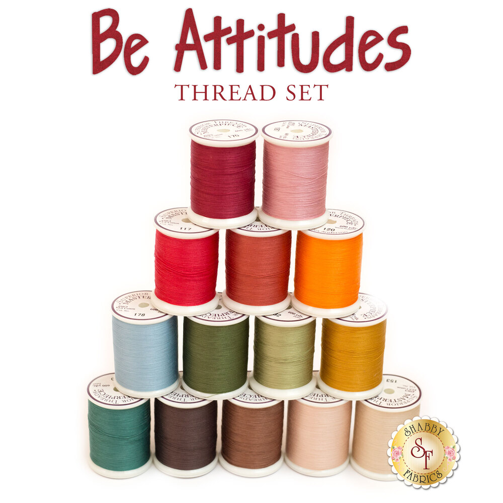 Be Attitudes BOM - 14pc MasterPiece Thread Set