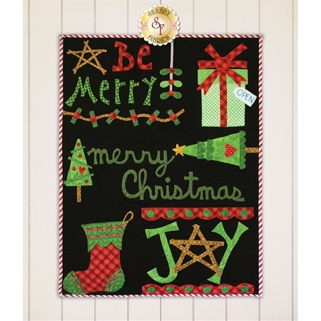 Be Merry Wall Hanging - Laser Cut