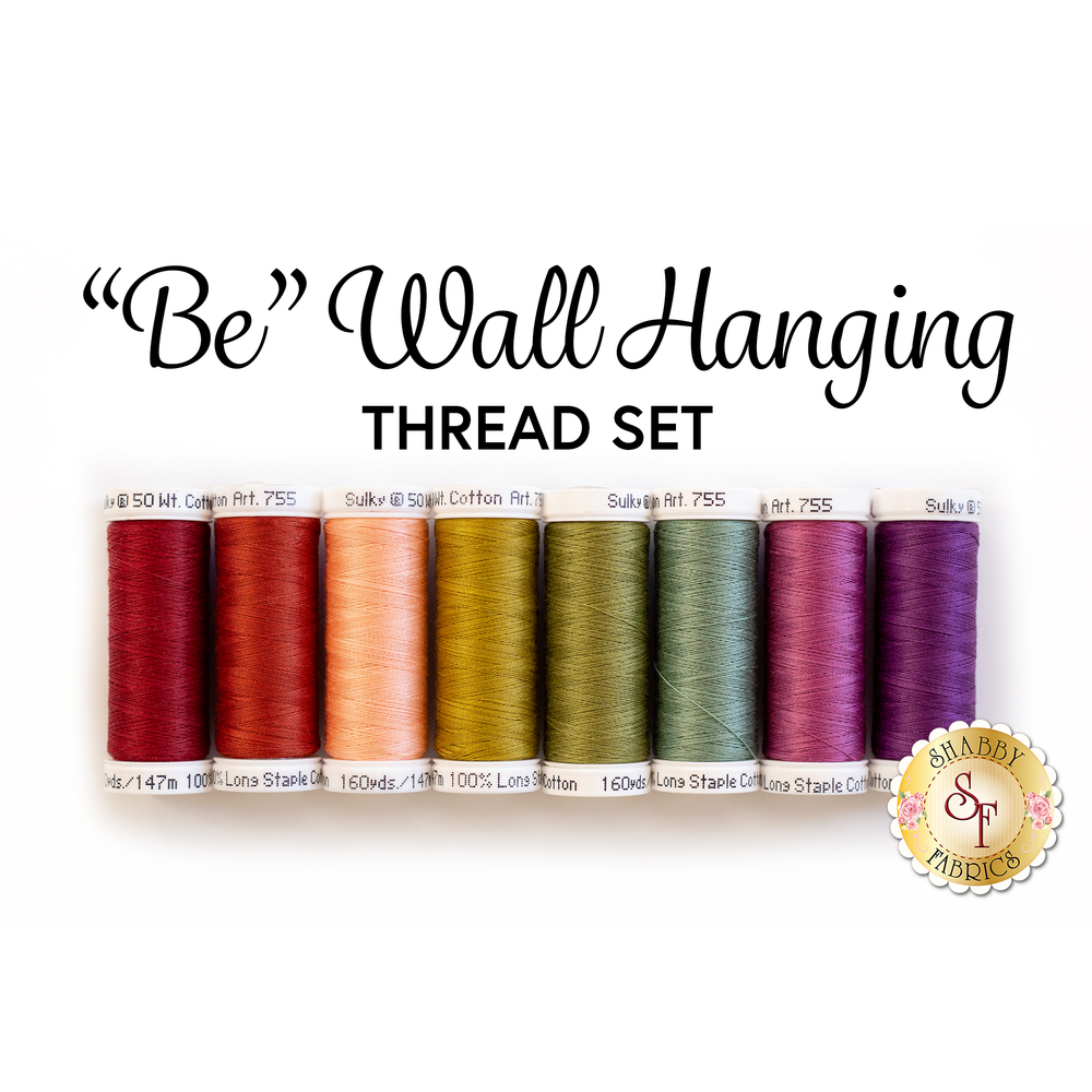"""Be"" Wall Hanging Kit - 8pc Thread Set 