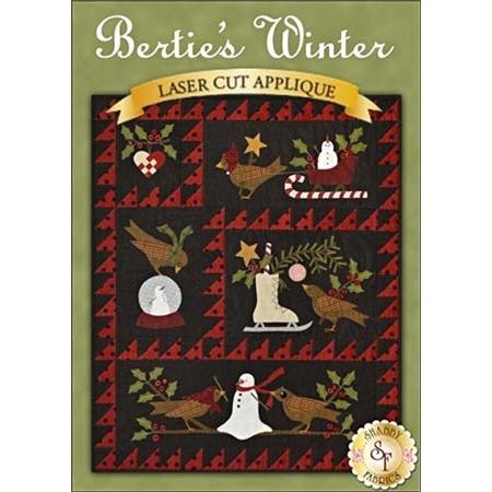 Bertie's Winter - Pre-fused & Laser-Cut Kit