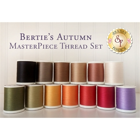 Bertie's Autumn - 13pc MasterPiece Thread Set