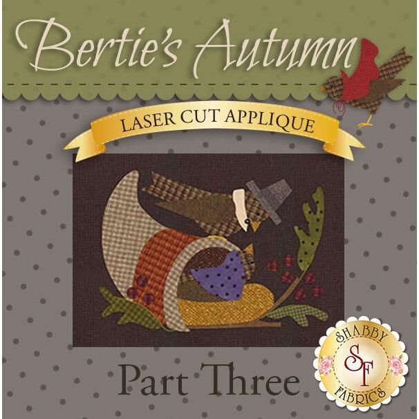 Bertie's Autumn Quilt - Laser-Cut Part 3 Kit