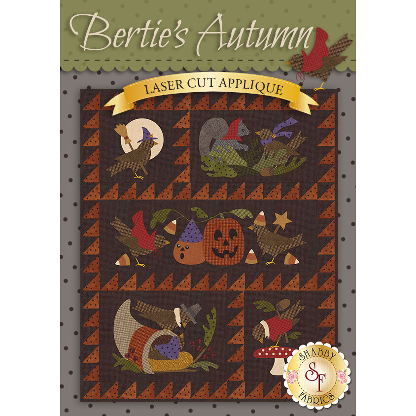 Bertie's Autumn - Pre-fused & Laser-Cut Kit