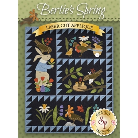 Bertie's Spring - Pre-fused & Laser-Cut Kit