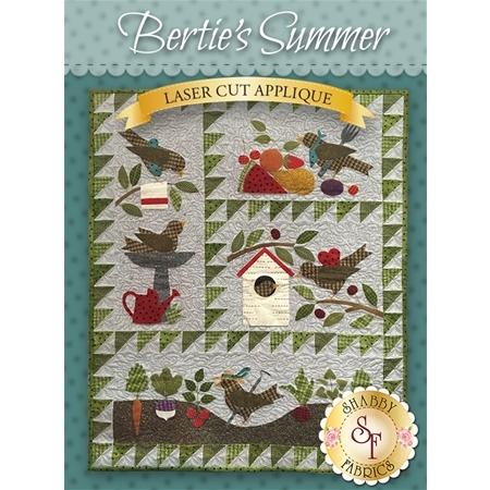 Bertie's Summer - Set of 4 patterns