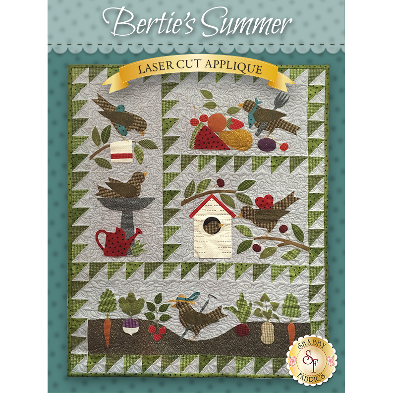 Bertie's Summer - Pre-Fused & Laser-Cut Kit