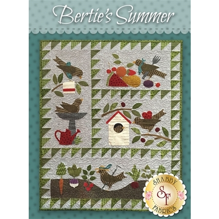 Bertie's Summer - Set of 4 patterns