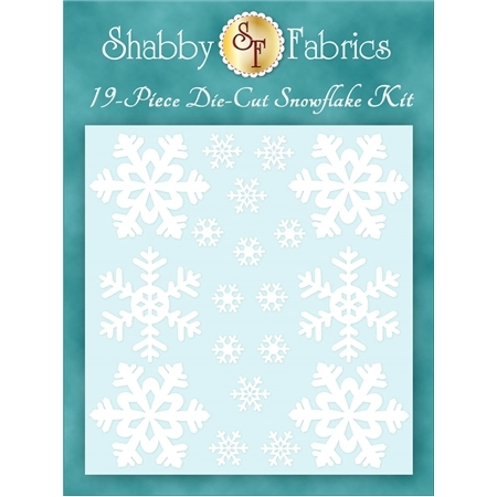 Blessings of Winter - Fresh Snow Die-Cut Snowflake Kit