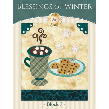 Blessings of Winter Quilt - Laser-cut Block 7 Kit