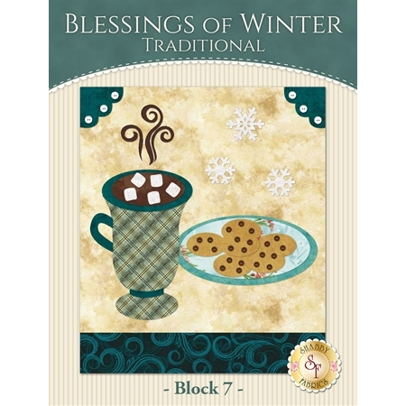 Blessings of Winter Quilt - Traditional Block 7 Kit
