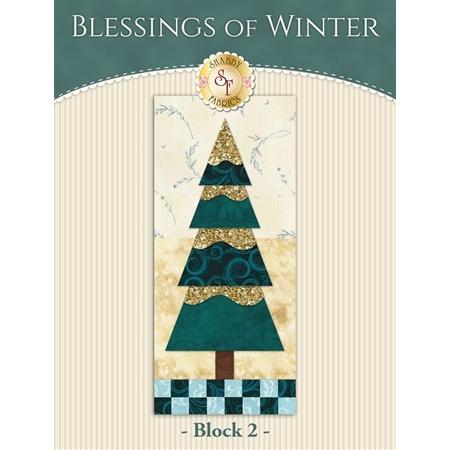 Blessings of Winter Quilt - Laser-cut Block 2 Kit
