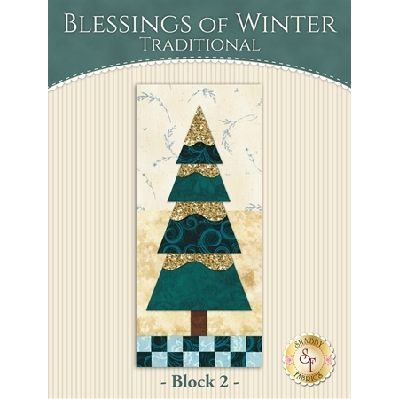 Blessings of Winter Quilt - Traditional Block 2 Kit