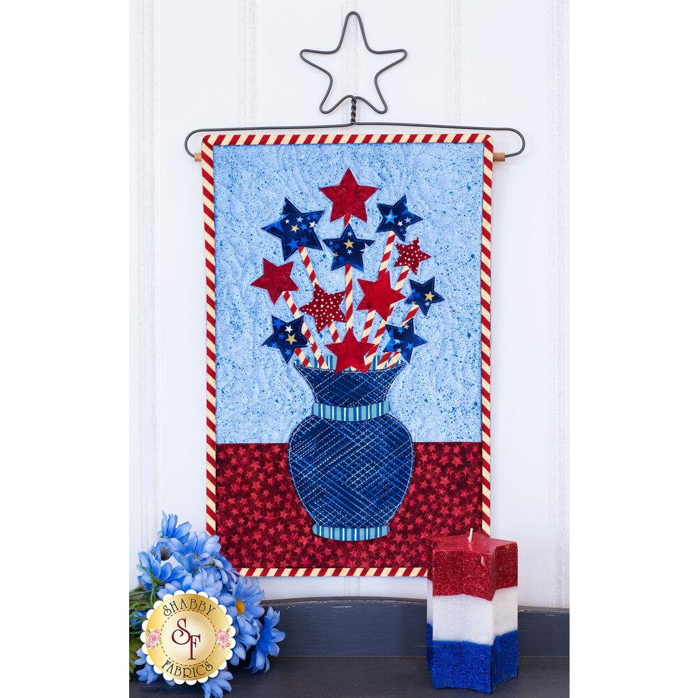 Blooming Series Kit - Stars (July) - Laser Cut