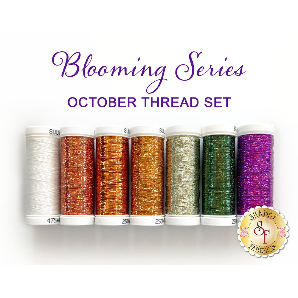 Blooming Series Pumpkins (October) Thread Set - 7pc from Sulky Threads