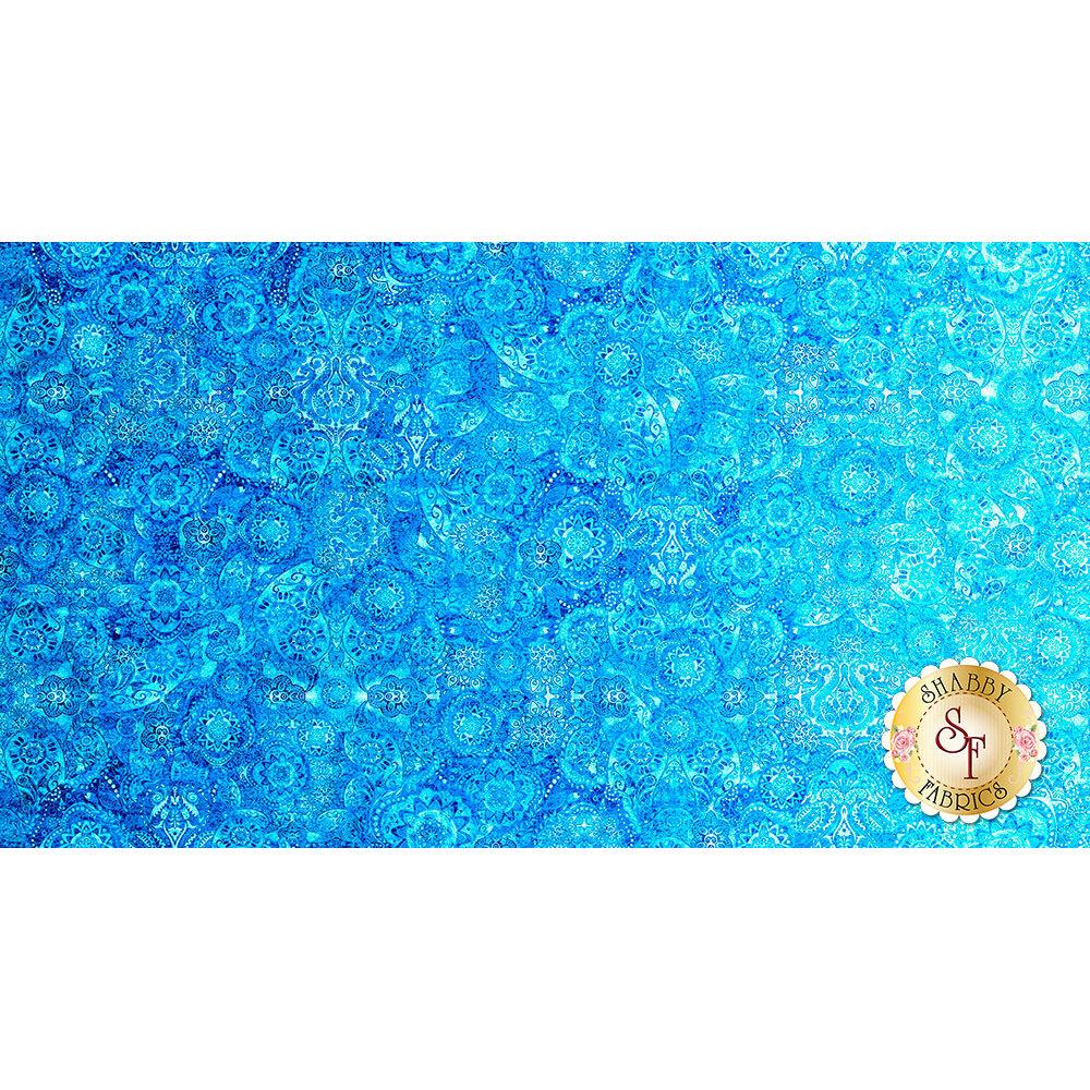 Bohemian Rhapsody 26956-B Aqua by Quilting Treasures Fabrics