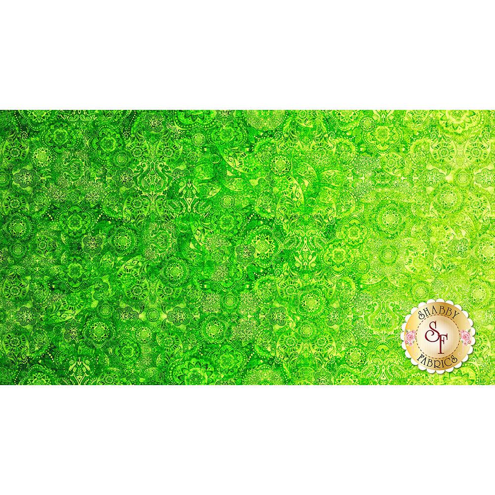 Bohemian Rhapsody 26956-GH Green Eyed Lady by Quilting Treasures Fabrics