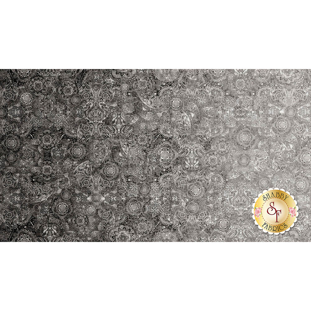 Bohemian Rhapsody 26956-K Touch of Gray by Quilting Treasures Fabrics
