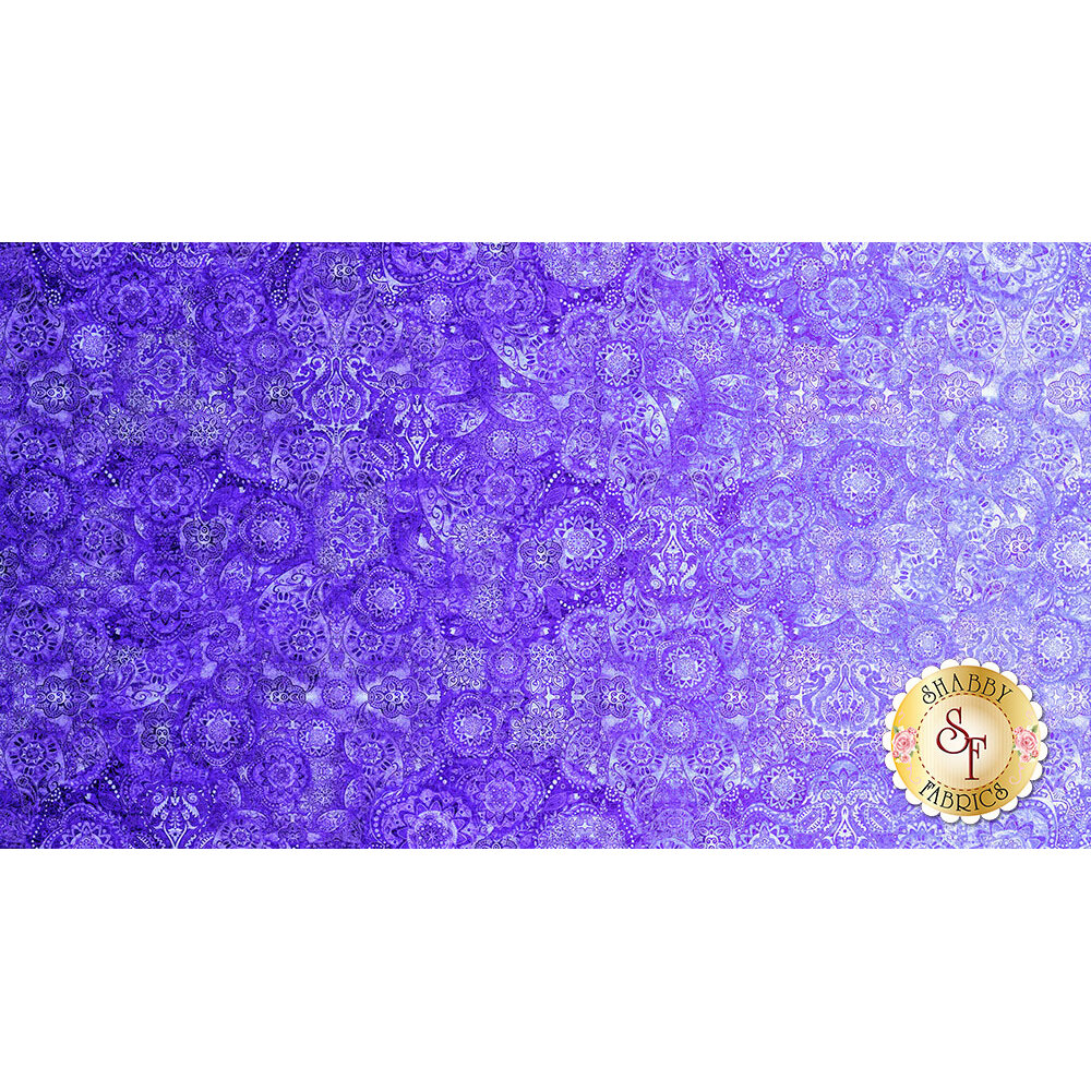 Bohemian Rhapsody 26956-L Purple Haze by Quilting Treasures Fabrics
