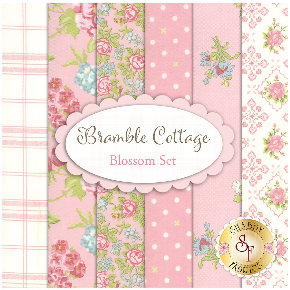 Bramble Cottage Blossom FQ Set by Moda Fabrics | Shabby Fabrics