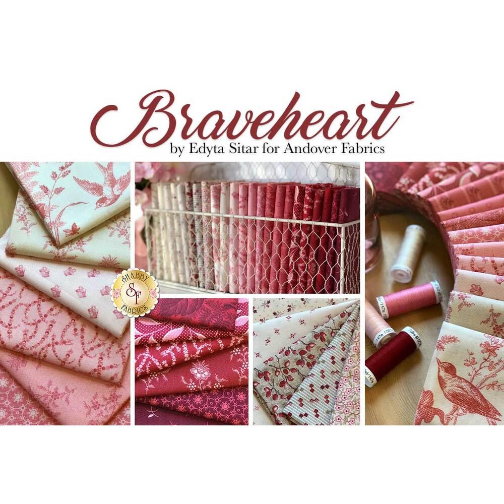 Braveheart  24 FQ Set by Andover Fabrics available at Shabby Fabrics