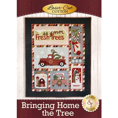 Bringing Home The Tree - Cotton - SAMPLE QUILT