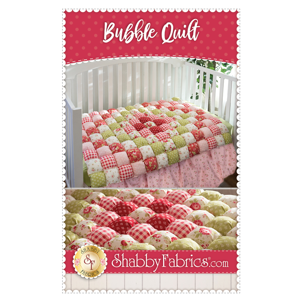 The front of the Bubble Quilt pattern