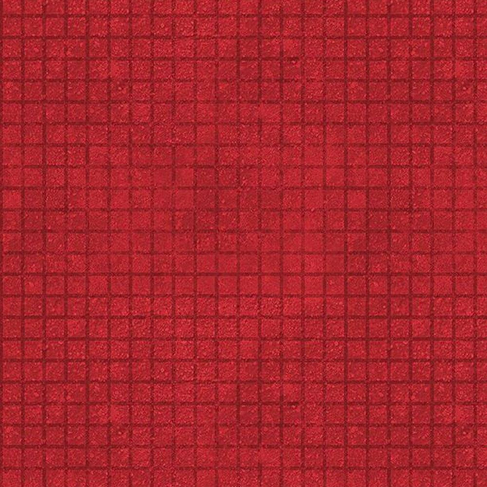Tonal red grid