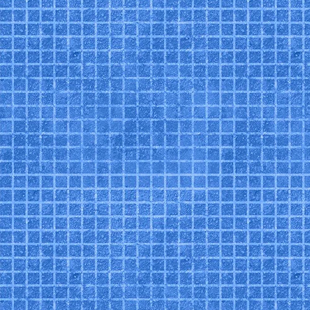 Tonal blue grid