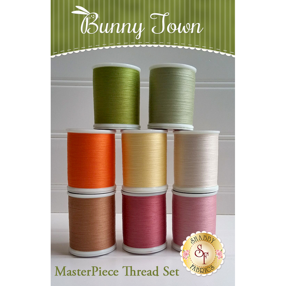 Bunny Town Laser-Cut BOM - 8pc MasterPiece Thread Set