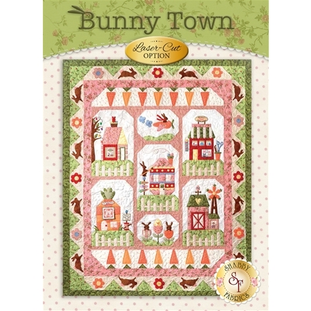 Bunny Town Quilt Kit - Laser-cut