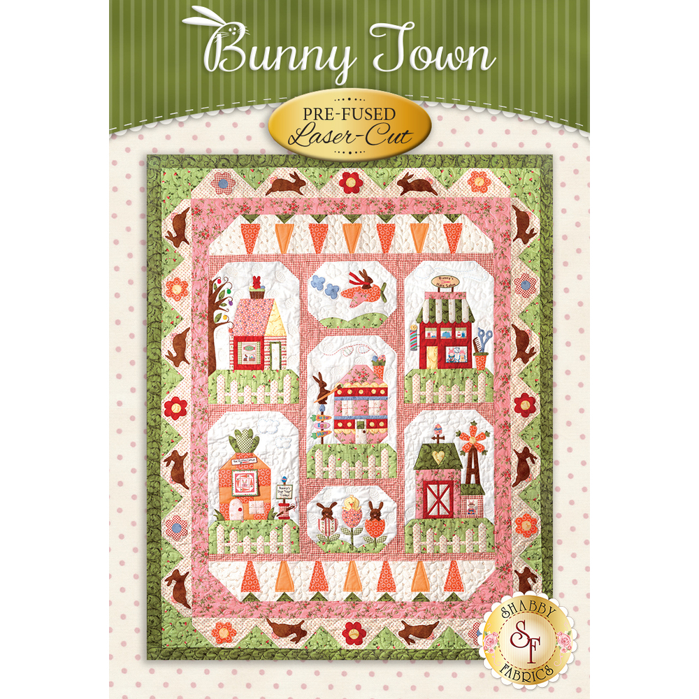 Bunny Town Block of the Month - Laser-cut