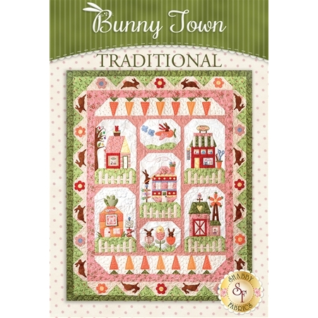 Bunny Town Block of the Month - Traditional