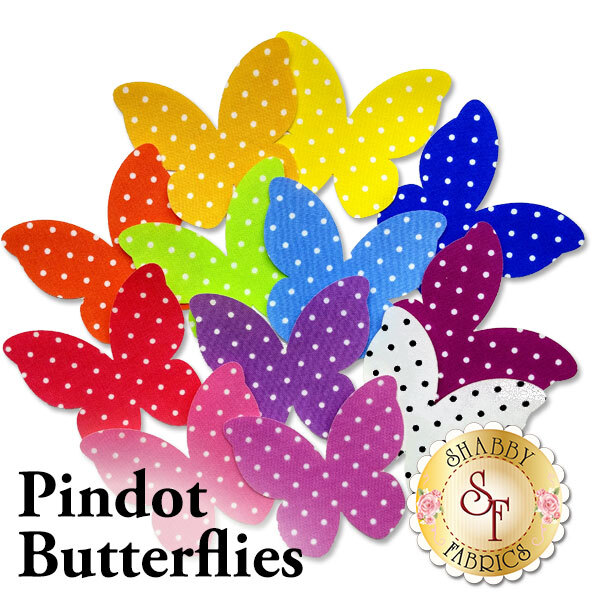Laser-Cut Pindot Butterflies - 4 Sizes Available!
