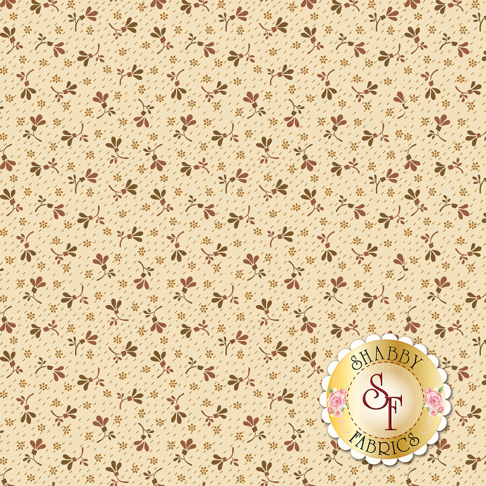 Buttermilk Blossoms 2108-33 for Henry Glass Fabrics