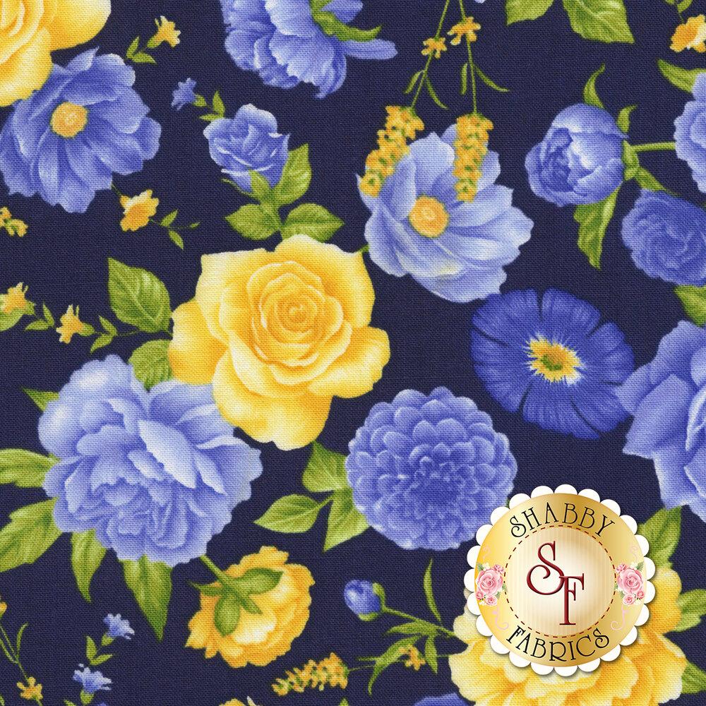 Angelica C6600-Midnight by Timeless Treasures Fabrics