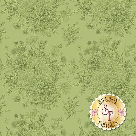 Love Story C7071-GREEN by Riley Blake Designs