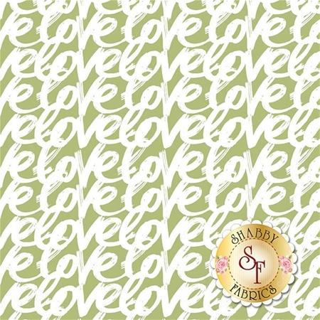 Love Story C7073-GREEN by Riley Blake Designs