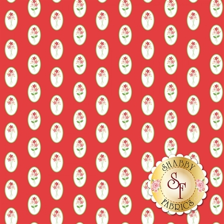 Vintage Adventure C7273-RED by Riley Blake Designs