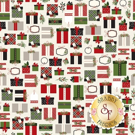 Christmas Delivery C7331-CREAM by Riley Blake Designs